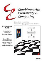 Combinatorics, Probability and Computing cover.jpg