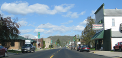 Street view of Coon Valley from Hwy. 14