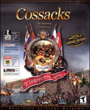 Cossacks: European Wars - Image: Cossacks European Wars video game box art