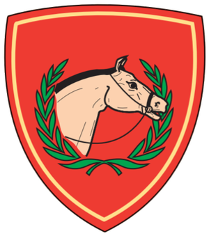 Irish Army Equitation School - Image: DF Equitation School