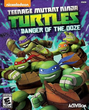 Teenage Mutant Ninja Turtles: Danger of the Ooze - Image: Danger of the Ooze Art X360
