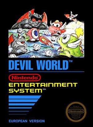 Devil World - European artwork of Devil World