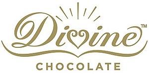 Divine Chocolate - Image: Divine Chocolate logo
