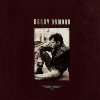 Donny Osmond (album) - Image: Donnyosmond 1989