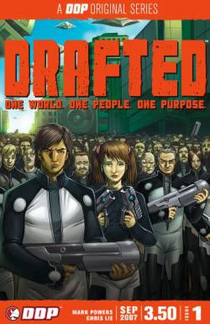 Drafted (comics) - Image: Drafted Issue 1 cover