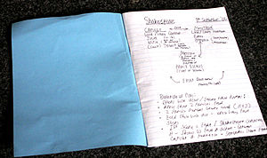 Exercise book - A common exercise book