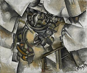 Minneapolis Institute of Art - Fernand Léger, 1910–11, Le compotier (Table and Fruit), oil on canvas, 82.2 x 97.8 cm