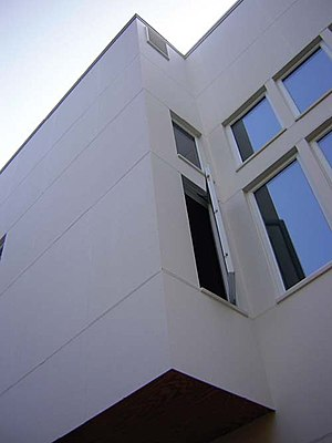 Fiber cement siding - HardiePanel on design-build addition, Ithaca NY