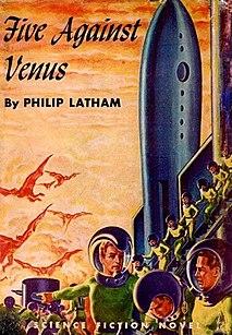 <i>Five Against Venus</i> Science fiction novel by Philip Latham