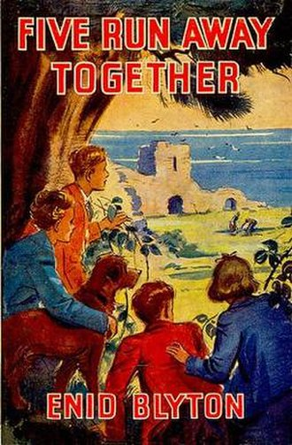 Five Run Away Together - Original 1944 first edition cover