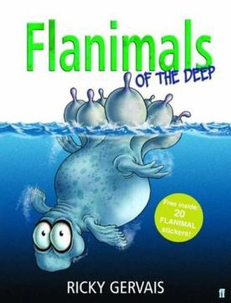 Flanimals of the Deep - Flanimals of the Deep book cover