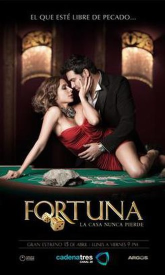 Fortuna (TV series) - Image: Fortuna Oficial Poster