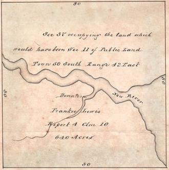 History of Fort Lauderdale, Florida - Frankee Lewis lands, New River Settlement