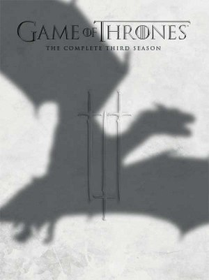 Game of Thrones (season 3) - Region 1 DVD artwork