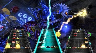 Guitar Hero: Warriors of Rock - In Warriors of Rock, returning characters to the game have Warrior forms that have additional scoring and gameplay benefits.