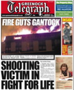 Greenock Telegraph - Greenock Telegraph Front Page