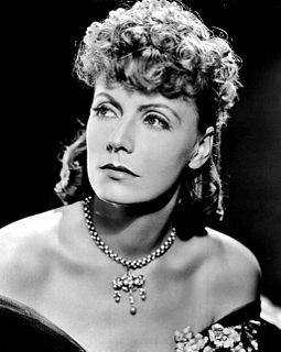 Greta Garbo Swedish-American actress