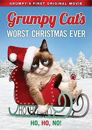 Grumpy Cat's Worst Christmas Ever - DVD cover
