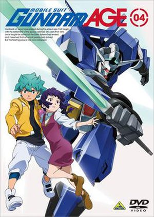 Mobile Suit Gundam AGE - Image: Gundam AGE DVD 4