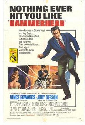 Hammerhead (film) - Original film poster