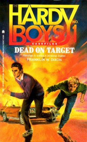 Dead on Target (The Hardy Boys) - Image: Hardy Boys dot cover
