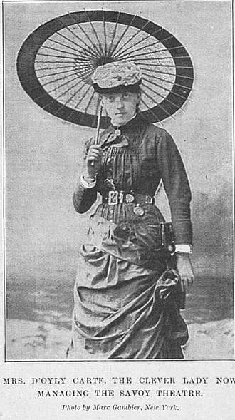 Richard D'Oyly Carte - Helen Carte, formerly Helen Lenoir, Carte's assistant and second wife