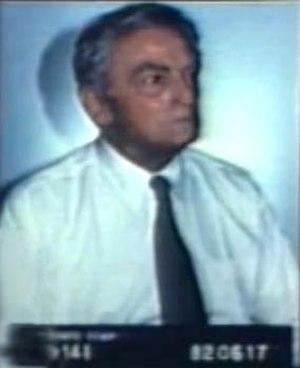Helmut Rauca - Rauca's identity photo from Canadian CBC broadcast of November 4, 1982