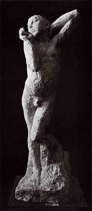 Henri Matisse, 1907, Awakening, plaster, exhibition Salon of the Golden Fleece (Салон Золотого Руна) 1908