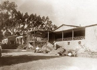 "Kodaikanal International School - The original ""Highclerc School"", ca. 1906"