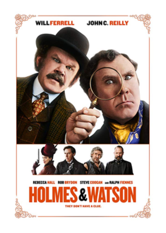 Holmes & Watson - Theatrical release poster