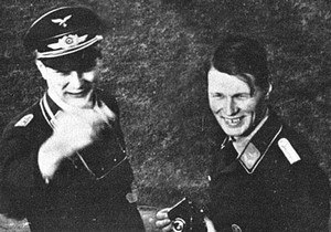 Horten brothers - The Horten brothers: Walter (left) and Reimar (right)