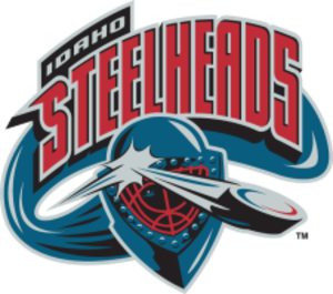 Idaho Steelheads - Image: Idaho Steelheads Old