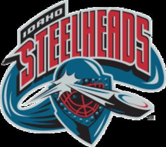Idaho Steelheads - Image: Idaho Steelheads Old