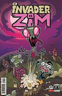 <i>Invader Zim</i> (comics) comic book series
