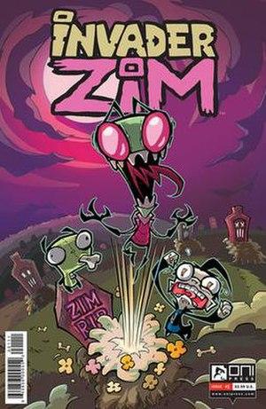 Invader Zim (comics) - Image: Invader Zim Comics First Cover