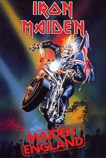 <i>Maiden England</i> 1989 video & live album by Iron Maiden