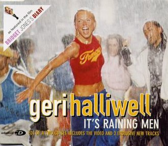 It's Raining Men - Image: Itsrainingmen ukcd 1