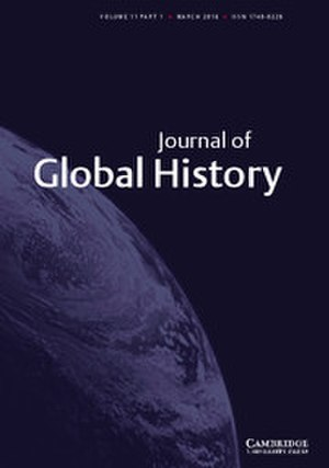 Journal of Global History - Image: Journal of Global History front cover