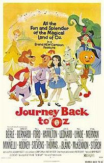 <i>Journey Back to Oz</i> 1972 film by Hal Sutherland