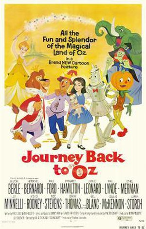 Journey Back to Oz - Original film poster