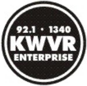 KWVR-FM - Image: KWVR AM FM radio logo