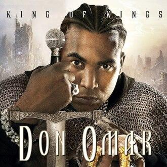 King of Kings (Don Omar album) - Image: King of Kings (Don Omar album cover art)