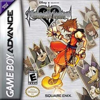 Picture of a game: Kingdom Hearts: Chain Of Memories