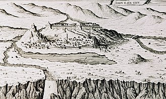 Knin - Knin around 1688