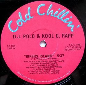Wanted: Dead or Alive (Kool G Rap & DJ Polo album) - Image: Kool G Rap & DJ Polo Rikers Island