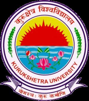Kurukshetra University - Image: Kurukshetra University logo
