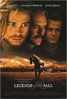 <i>Legends of the Fall</i> 1994 American drama film directed by Edward Zwick