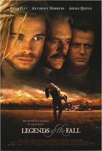 Legends of the Fall - Theatrical release poster