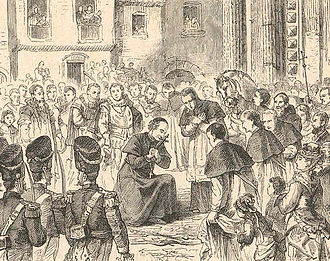 Pope Leo XIII - Archbishop Pecci enters Perugia in 1846