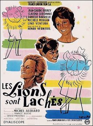 The Lions Are Loose - Image: Les Lions sont laches poster